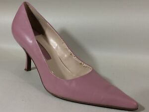 36b4a52f1956 Nine West Mauve Pink Pointed Toe Stiletto Heels Shoes Womens 8.5 M ...