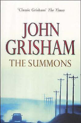 Grisham, John, The Summons, Paperback, Excellent Book