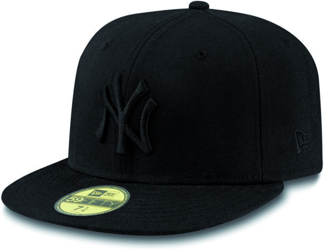 ce8e93f3fbd Era Mens MLB Basic NY Yankees 59fifty Fitted Cap Black Size 7 1 2 ...