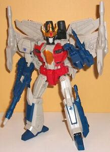 Transformers Combinateur Wars Starscream Complet Leader Jet