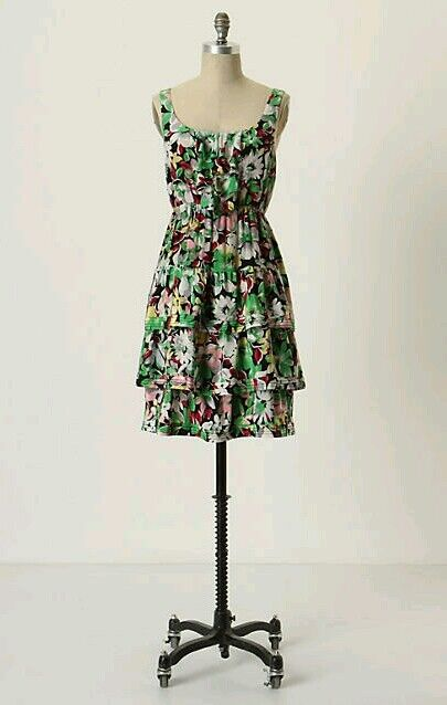 46fe8ef399ac New 168 Anthropologie Akebia by Moulinette Silk Floral SZ 6 Dress Soeurs  nyrmif1900-Dresses