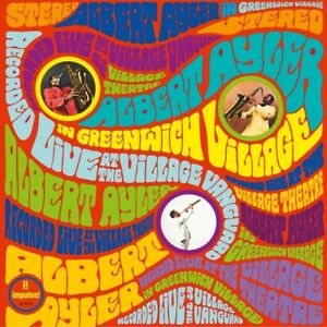 ALBERT-AYLER-IN-GREENWICH-VILLAGE-180-GRAM-LP-JAPAN-IMPORT-LIVE-JAZZ