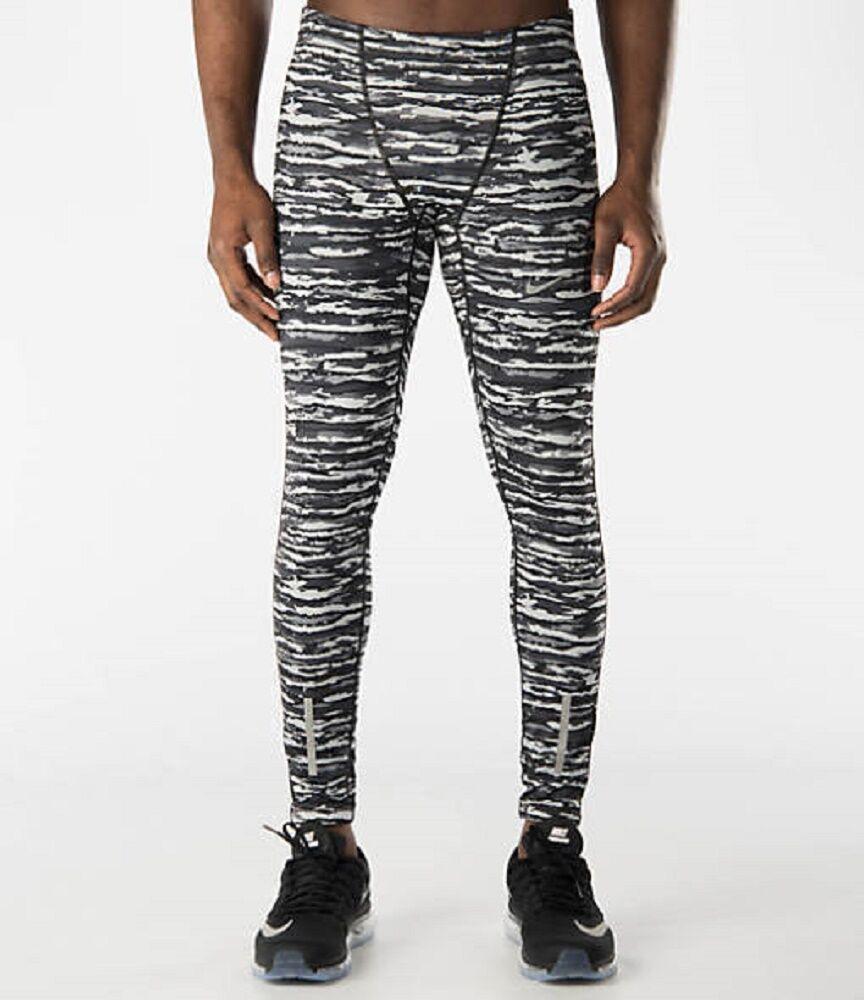 82db6ec394c3b Nike Men's Size 2xl Tech Wilder Running Tight Black Camo 839984 021 ...
