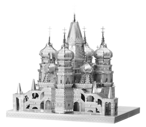 ST BASIL CATHEDRAL ICONX  3D Laser Cut Metal Model From Fascinations