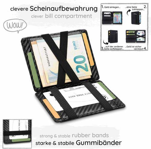 Geldbörse Herren TÜV geprüft Magic Wallet Portmonnaie Münzfa GenTo Pacific
