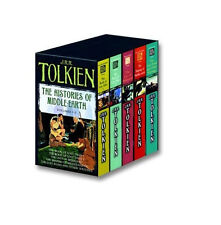 The Histories of middle earth, J.R.R Tolkien ( volumes 1-5, paperback )