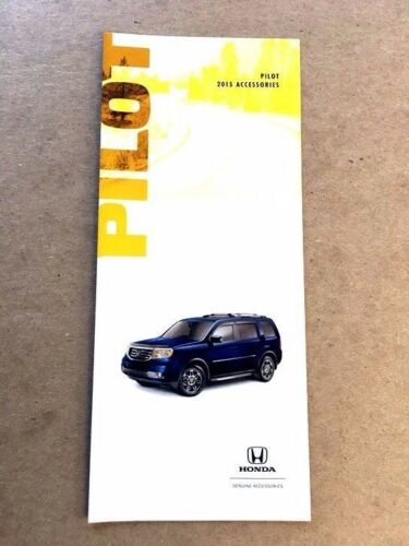 2015 Honda Pilot Original Factory Accessories Brochure