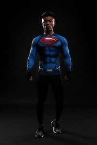 649655a77eae Image is loading Batman-VS-Superman-3D-Printed-T-shirts-Compression-