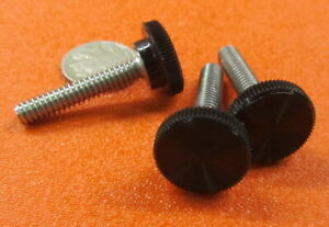 5 pcs Set Screw 1//2-20 X 1.00 Cup Point Black Oxide Alloy Steel