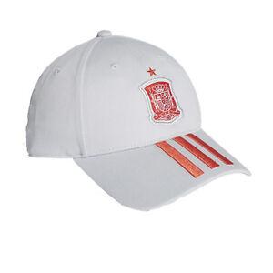 8ff4be8339228 La imagen se está cargando Adidas-Espana-Futbol-Gorra-FEF-3-Raya-Ajustable-