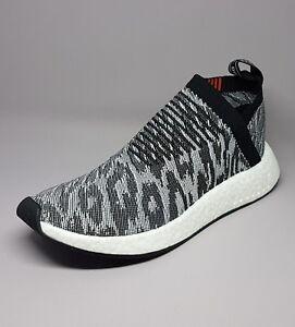 1af80481b39 BZ0515 Adidas NMD CS2 Primeknit Men Sneakers Grey  Black  Red Men ...