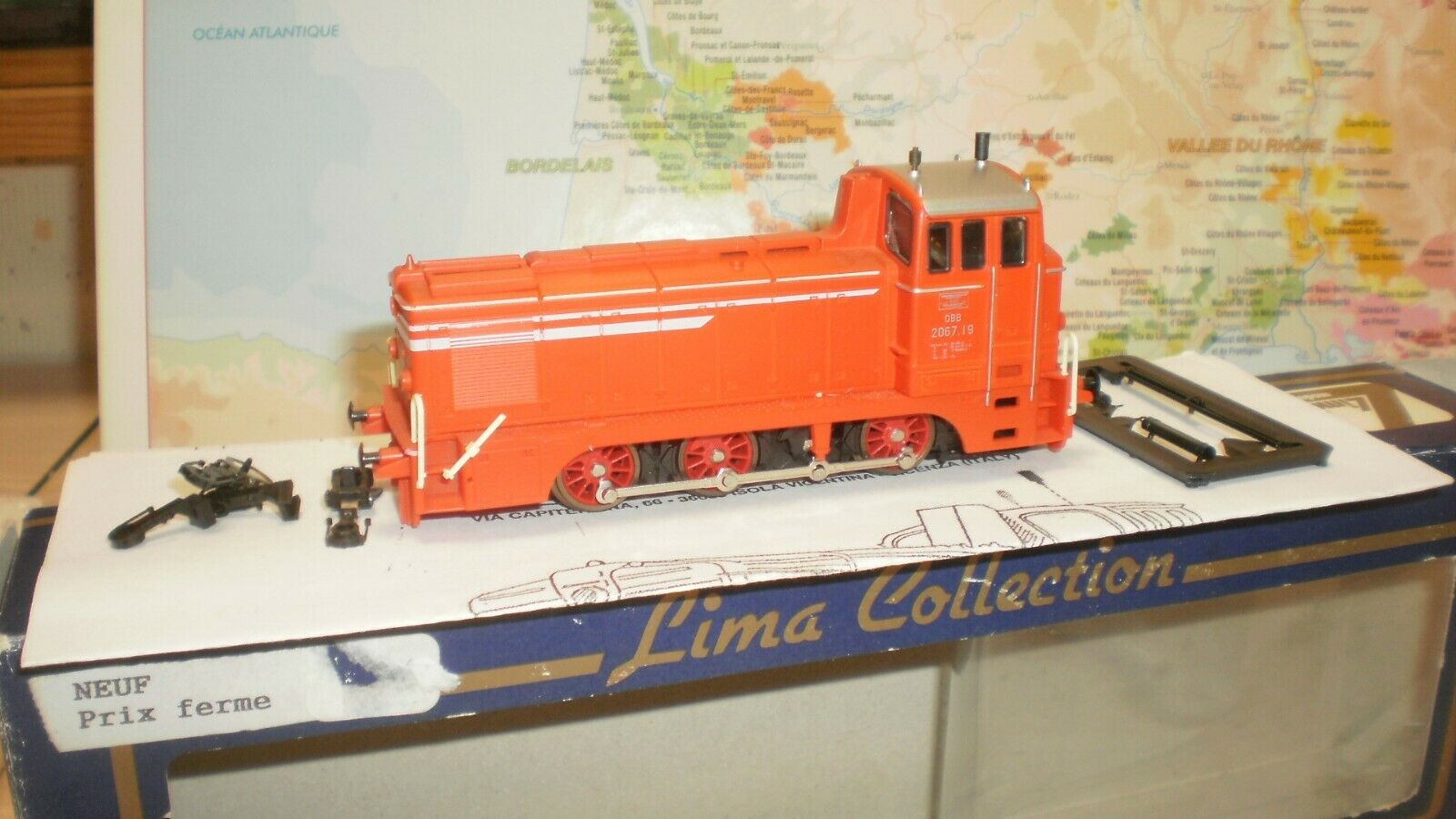 Loco diesel 2067.19 OBB Lima collection HO