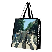 THE BEATLES Rock Band ABBEY ROAD Album Cover LARGE SHOPPING TOTE GIFT BAG New