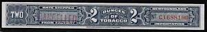 Canada-Newfoundland-2-ounces-Blue-Tobacco-Strip-Revenue-NT-201CP-PROOF