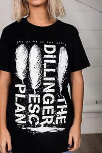 Official-The-Dillinger-Escape-Plan-Feathers-Unisex-T-Shirt-Plagiarism-Machine