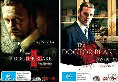 The Doctor Blake Mysteries - Seasons 1 & 2 = NEW R4 DVD