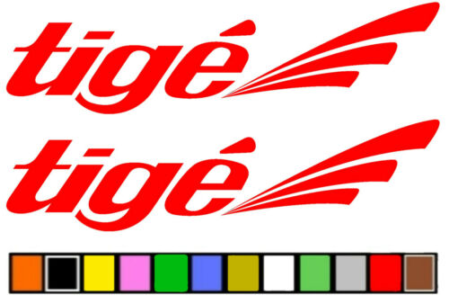 """TIGE BOAT STICKER DECAL FISHING  /""""ANY SIZE OR COLOR AVAILABLE/"""""""