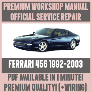image is loading workshop-manual-service-amp-repair-guide-for-ferrari-