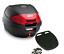 Givi-Monolock-Topcase-E300N2-30-Liter-schwarz-inkl-Montagekit-Motorrad-Roller miniatuur 1