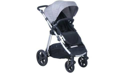 Cuggl Beech Pushchair Black and Silver