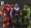 Avengers-3-Action-Figure-Moive-Marvel-Captain-America-Spiderman-Iron-Man-Toy-UK thumbnail 9