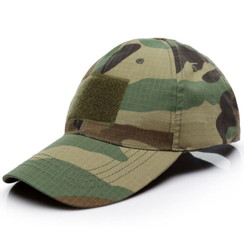 Special Force Operator Tactical Military Army Camo Cap Baseball Trucker Sun Hat