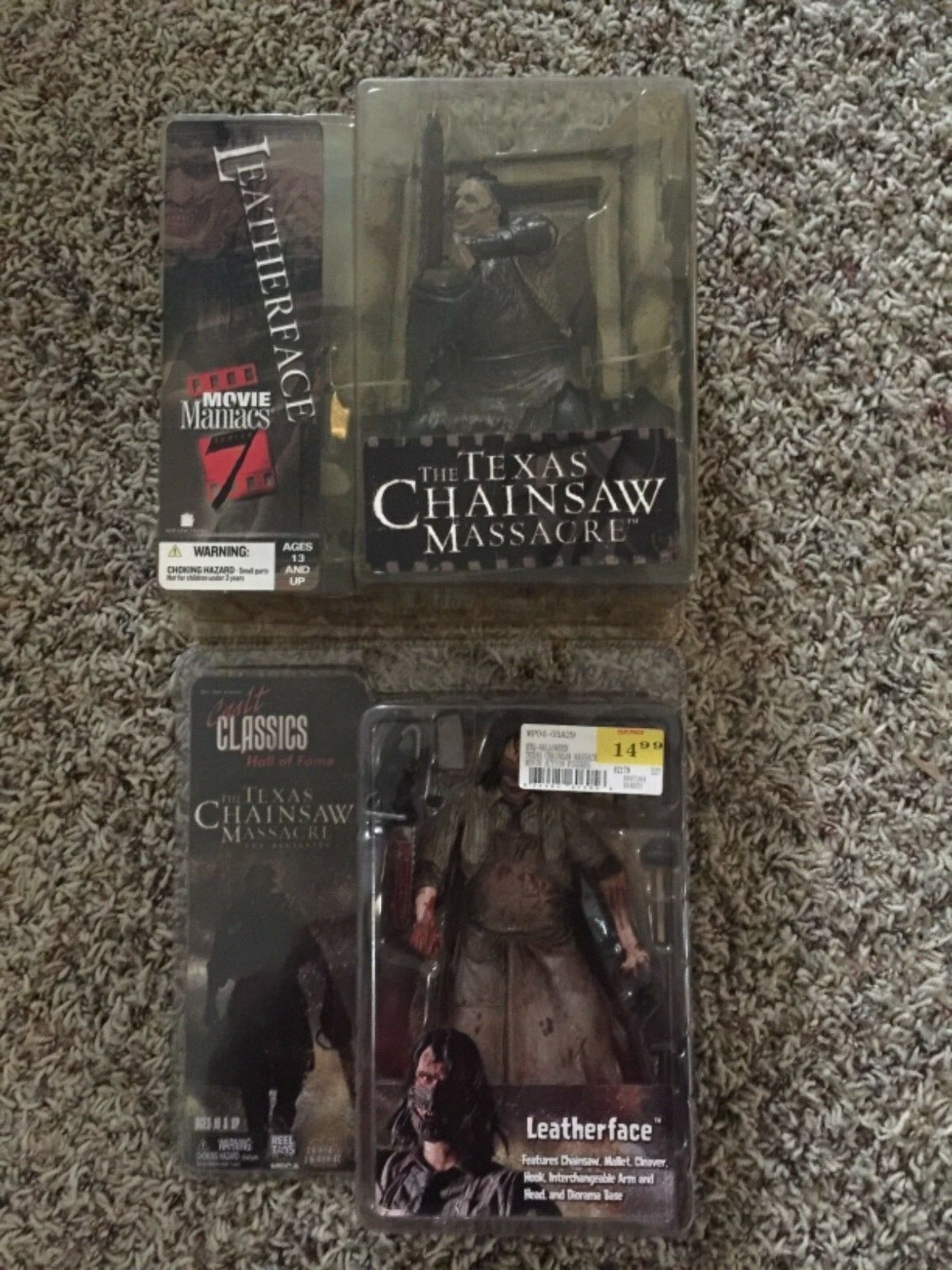 Leatherface Cult Classics & Movie Maniacs Serie 7