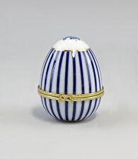 88161 Porzellan Eidose blau stehend  Kämmer Thüringen