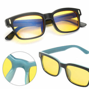 85068edc32 Image is loading Unisex-Gaming-Glasses-Computer-Anti-Fatigue-Blue-Light-