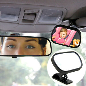 Clear-Baby-Mirror-Back-Car-Seat-Cover-Infant-Child-Toddler-Rear-Ward-Safety-View