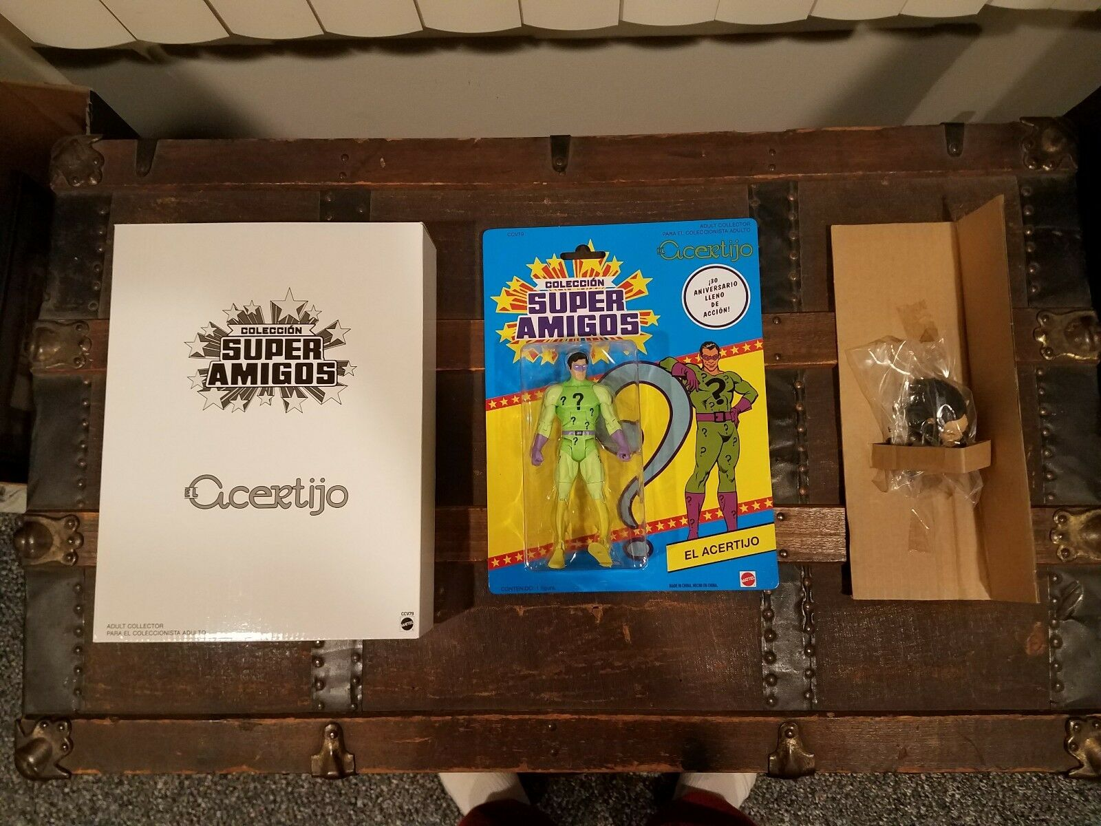 Matty Mattel Super Amigos Collection 30th Anniversary EL ACERTIJO NEW