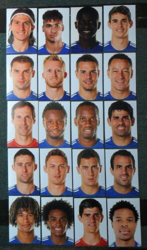 COLLECTION OF CHELSEA 201415 FOOTBALL PHOTOS>20 PLAYER PORTRAITS