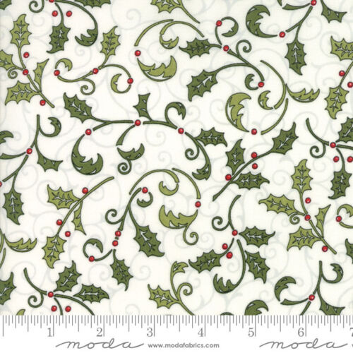 MODA Fabric ~ SNOW MUCH FUN ~ Deb Strain by 1//2 yard Snowy White 19802 13