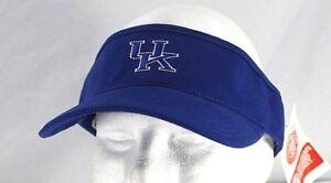 Kansas-University-Blue-Visor-Adjustable