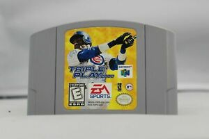 Triple Play 2000 - Nintendo N64 Game Authentic