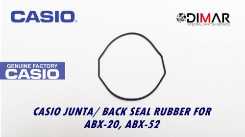ABX-50 ABX-52 PARA MODELOS CASIO JUNTA// BACK SEAL RUBBER