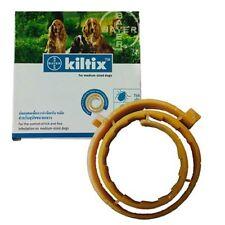 Dog pet collar bayer kiltix control tick flea Size M 53cm Lasts 5-6 Months