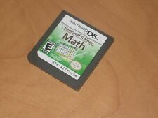 Personal Trainer Math Nintendo DS Game - Works Perfectly / Game Only