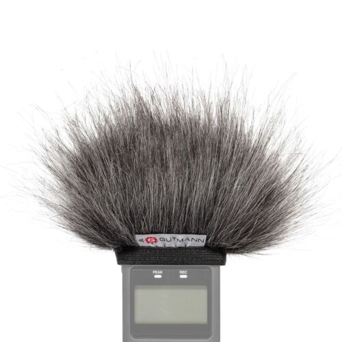 Gutmann Microphone Windscreen Windshield for Tascam DR-08 Premium Grey