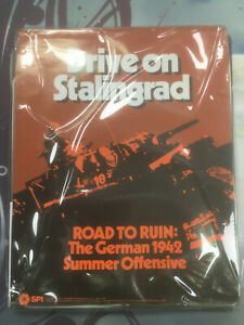 SPI Wargame Tray Drive on Stalingrad Road to Ruin 1977 COMPLETE RARE!