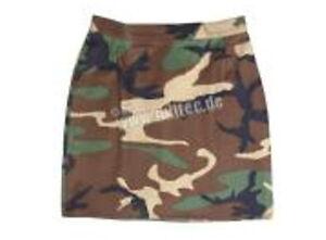 Minirock US Army Rock Women Skirt T/C 3-color Woodland Camo Gr 40 Skirt Minirock