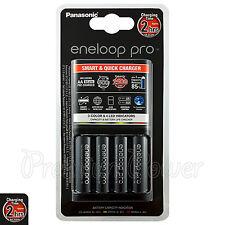 Panasonic Eneloop PRO Smart & Quick Charger + 4 AA 2500 mAh batteries BQ-CC55E
