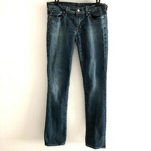 Citizens-of-Humanity-Women-039-s-Sz-30-jeans-ava-straight-leg-venetian-163-stretch