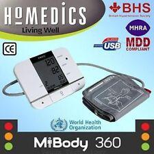 HoMedics Upper Arm USB Digital Blood Pressure Hypertension Monitor/Machine/Meter