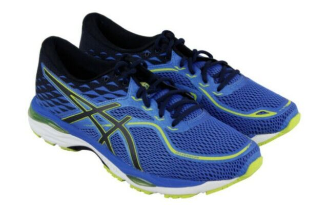 Asics Gel Cumulus 19 Mens Blue Mesh Athletic Lace Up Running Shoes Size 13  T7B3N