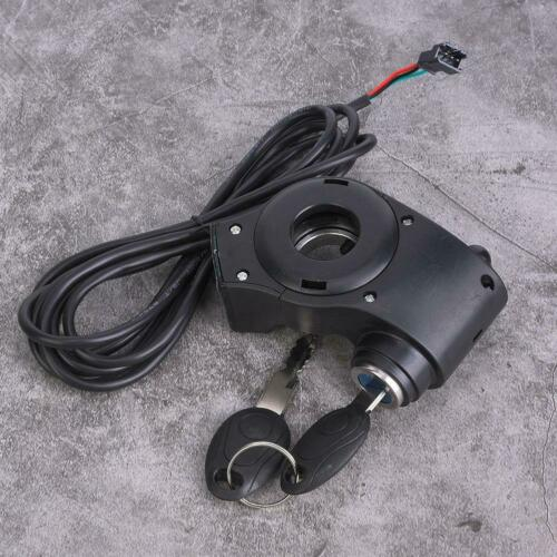 Details about  /Electric E-bike Bicycle Thumb Throttle Switch Voltage Display with Key Lock