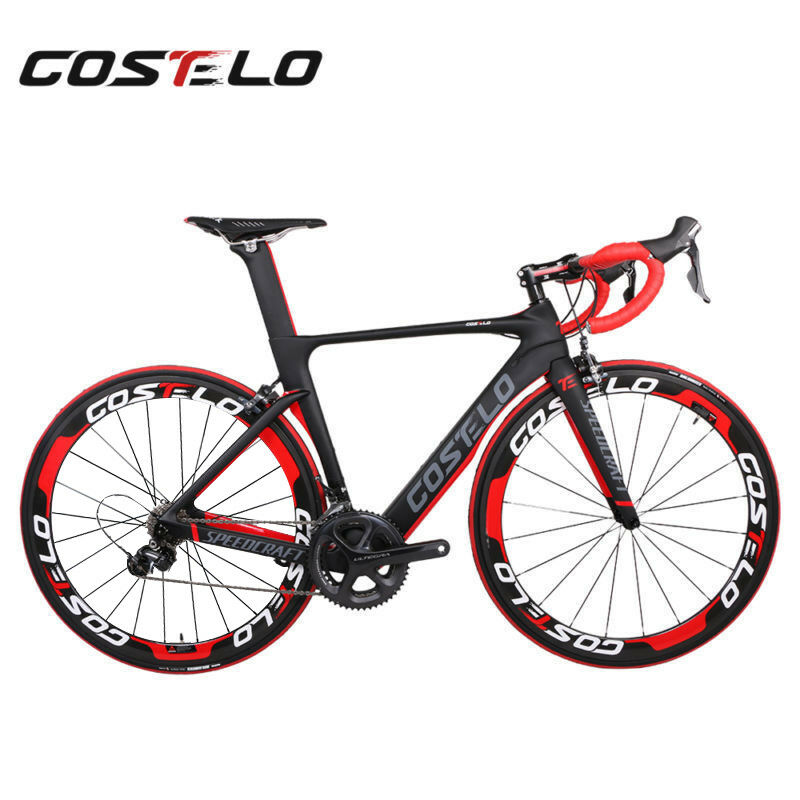 Costelo speedcraft Carbon Road bicycle complete bike Frame Wheels Shimano group