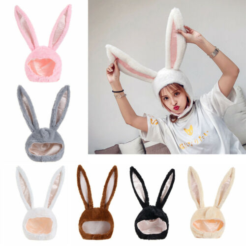 Plush Rabbit Hat Bunny Ears Hat Photography Props Holiday Party Favors Hat