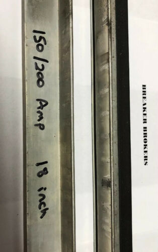 QFP PRIORITY SHIPS SAME DAY ZINSCO SYLVANIA GTE 150 200 AMP 18 INCH BUSS BAR