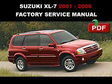 2001 2002 2003 2004 2005 2006 SUZUKI GRAND VITARA XL7 REPAIR WORKSHOP FSM MANUAL